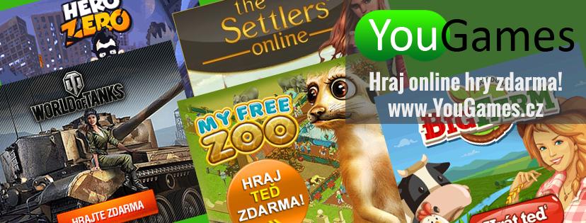 www.yougames.cz - Free to play online MMO hry zdarma pro v�echny v�kov� kategorie.